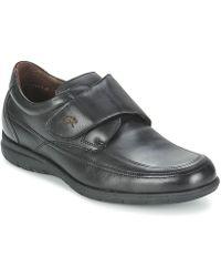 Fluchos - Luca Men's Casual Shoes In Black - Lyst