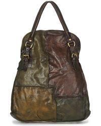 A.S.98 - Louzi Women's Handbags In Brown - Lyst