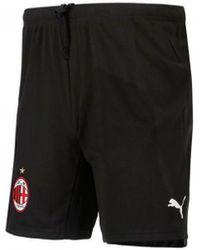PUMA AC Milan Tenue Domicile 2021-2022 Short - Noir