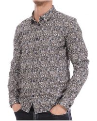 Teddy Smith Camisa manga larga - Gris