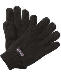 Regatta - Unisex Thinsulate Thermal Winter Gloves Men's Gloves In Black - Lyst