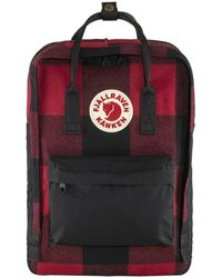 Fjallraven Tas Kanken Re-wool Laptop 15 - Rood