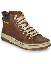 Caterpillar Hoge Sneakers Irondale - Bruin