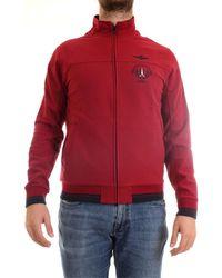 Aeronautica Militare 202FE1305F313 Sweat Bourgogne Sweat-shirt - Rouge