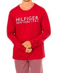 Tommy Hilfiger Camiseta manga larga Camiseta de manga larga Tommy Hilfiger - Rojo