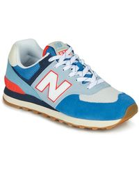 New Balance - Lage Sneakers 574 - Lyst