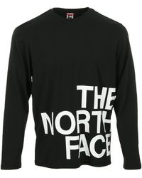 The North Face - T-shirt Graphic Flow LS - Lyst
