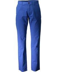 GANT 1601.1702550 femmes Chinots en bleu