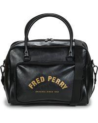 Fred Perry Borsa Da Sport Arch Branded Holdall - Nero
