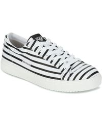 Armani Jeans - Asantora Men's Shoes (trainers) In White - Lyst