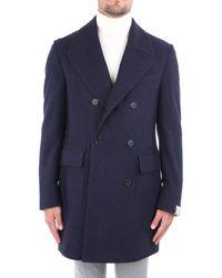 Corneliani Mantel 861202-0812171 - Blauw
