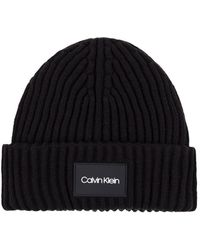 Calvin Klein Beanie Bonnet - Noir