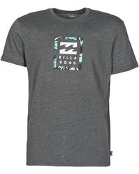 Billabong T-Shirt Unity Stacked Ss - Grigio
