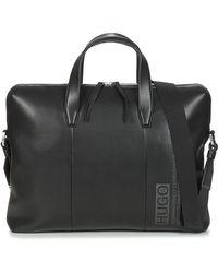 HUGO Tycoon S Doc Case Briefcase - Black