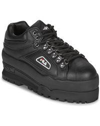 Fila Lage Sneakers Trailblazer Wedge Wmn - Zwart