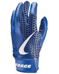 Nike Accessoire sport Gants de Batting Force Ed - Bleu