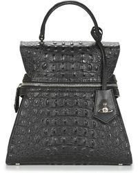 Vivienne Westwood Handtas Kellly Medium Handbag - Zwart