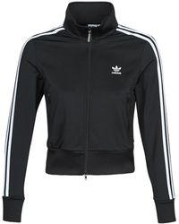 adidas Trainingsjack Firebird Tt - Zwart