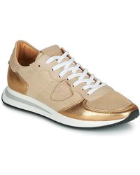 Philippe Model Lage Sneakers Tropez X - Naturel