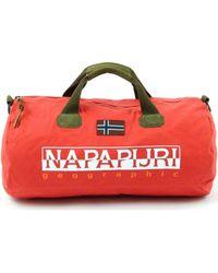 Napapijri Bering El Np000iy4 Travel Bag - Red