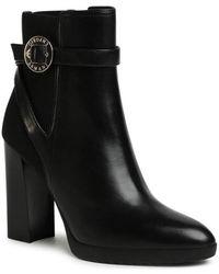 Armani Boots Bottes Talons Hauts Noir