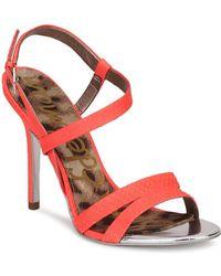 Sam Edelman - Abbott Women's Sandals In Red - Lyst