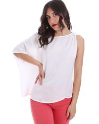 GAUDI 011FD45057 Blouses - Blanc