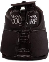 Versace Jeans Couture E1YWAB20 Sac à dos - Noir