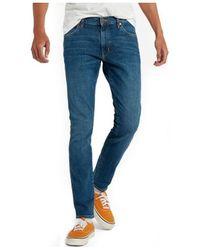 Wrangler Skinny Jeans - Blauw