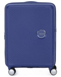 Samsonite Reiskoffer American Tourister 001 Soundbox Spinner 5520 Txa - Blauw