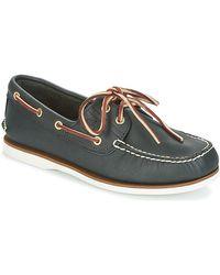 Timberland Classic -Chaussures bateau bleu pour homme