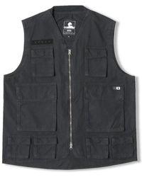 Edwin Veste Tactical Tracksuit Jacket - Black