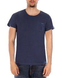 GANT 2053006 hommes T-shirt en bleu