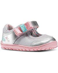 7d21f46120c12 Reebok - Elsa Ventureflex Mj Boys s Children s Shoes (pumps   Plimsolls) In  Silver -