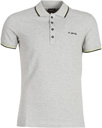d0d81085 DIESEL T-oin Tipped Collar Polo Shirt in Red for Men - Lyst