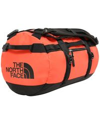 The North Face Sac à dos S961 BASE CAMP DUFFEL XS FLARE - Orange