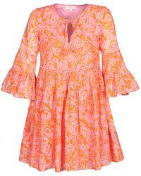 Rene' Derhy Canular Dress - Pink