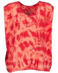 Volcom - Random Days Women's T Shirt In Orange - Lyst