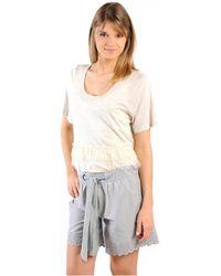 Gat Rimon TOP LYLY ECRU T-shirt - Neutre