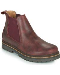 Birkenstock Boots STALON - Marron