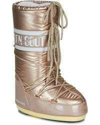 Moon Boot Snowboots Icon Pillow - Roze