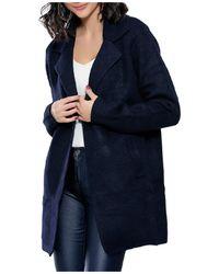 Infinie Passion - Coat 00w061273 Women's Coat In Blue - Lyst
