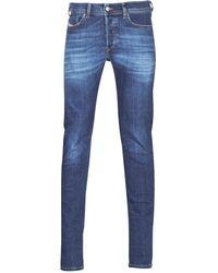 DIESEL Skinny Jeans Sleenker - Blauw