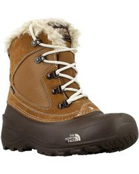 The North Face - Youth Shellista Women's Walking Boots In Brown - Lyst
