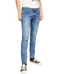 Pepe Jeans PM200823WF92 Jeans - Bleu