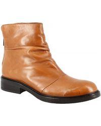 Leonardo Shoes - Boots V117 BRITNER POLI - Lyst