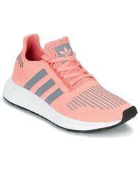 adidas SWIFT RUN W femmes Chaussures en rose