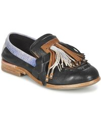 A.S.98 - Orizontal Women's Loafers / Casual Shoes In Black - Lyst