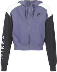 Nike Sweater W Nsw Air Hoodie Fz Bb - Meerkleurig