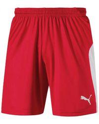 PUMA Korte Broek Liga Shorts - Rood